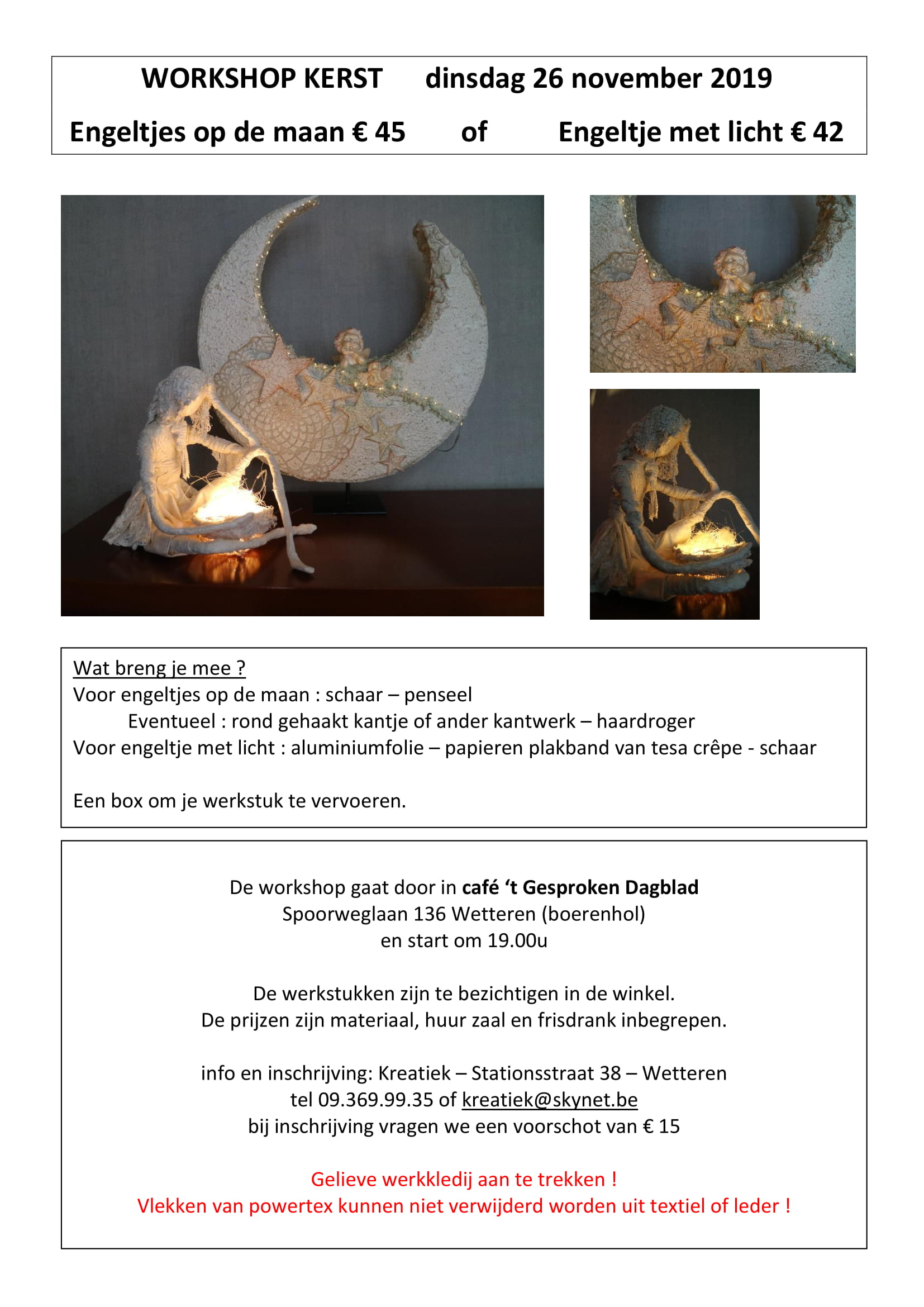 Workshop Kerst 2019