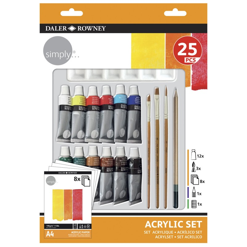 Simply paint set , 25 stuks  € 9.95