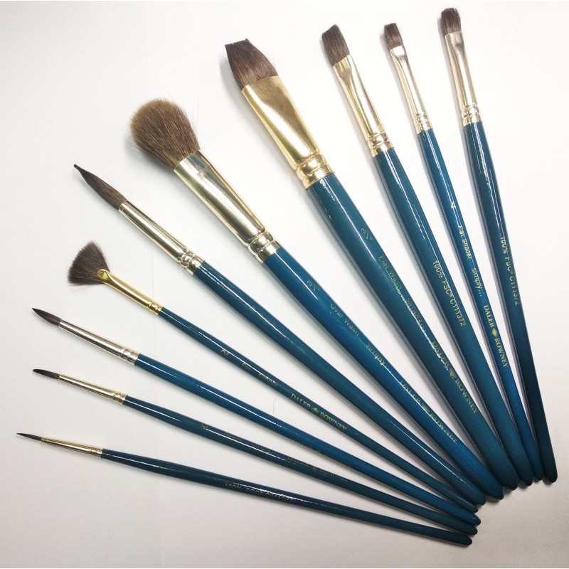 simply brush set watercolour