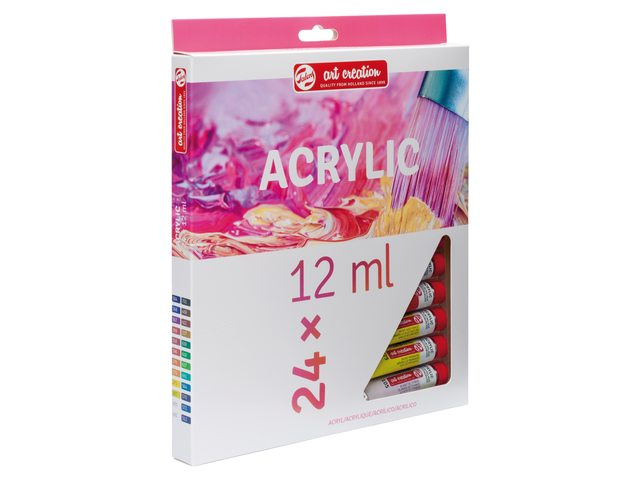 art creation acrylverf set 24 x 12 ml