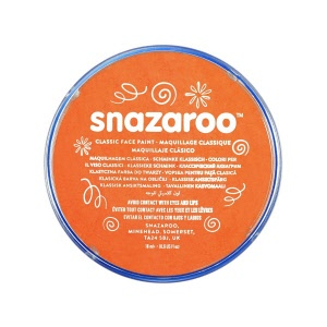 snazaroo make up oranje