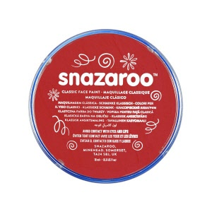 snazaroo make up rood