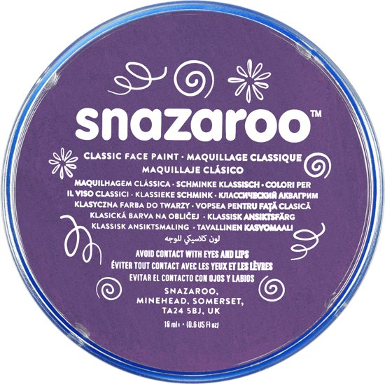 snazaroo make up violet