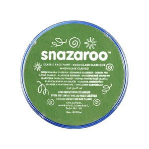 snazaroo make up grasgroen