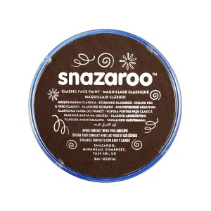 snazaroo make up donkerbruin